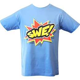 T-shirt azur Sweden